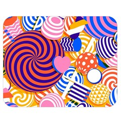 Canddy Color Double Sided Flano Blanket (Medium)  by AnjaniArt