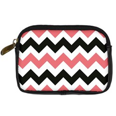 Chevron Crazy On Pinterest Blue Color Digital Camera Cases by AnjaniArt