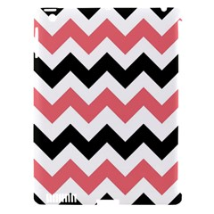 Chevron Crazy On Pinterest Blue Color Apple Ipad 3/4 Hardshell Case (compatible With Smart Cover) by AnjaniArt