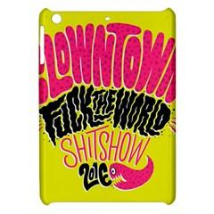 Clowntown Apple Ipad Mini Hardshell Case by AnjaniArt
