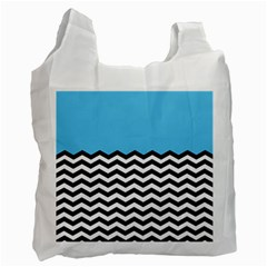 Color Block Jpeg Recycle Bag (two Side)  by AnjaniArt