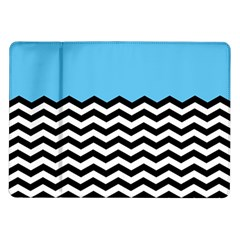 Color Block Jpeg Samsung Galaxy Tab 10 1  P7500 Flip Case by AnjaniArt