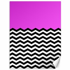 Colorblock Chevron Pattern Jpeg Canvas 36  X 48   by AnjaniArt