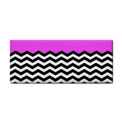 Colorblock Chevron Pattern Jpeg Cosmetic Storage Cases by AnjaniArt