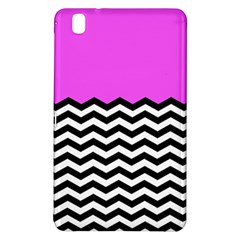 Colorblock Chevron Pattern Jpeg Samsung Galaxy Tab Pro 8 4 Hardshell Case by AnjaniArt