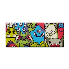 Colourful Monster Flooring Cosmetic Storage Cases by AnjaniArt