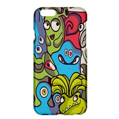 Colourful Monster Flooring Apple Iphone 6 Plus/6s Plus Hardshell Case by AnjaniArt
