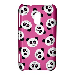 Cute Panda Pink Nokia Lumia 620 by AnjaniArt