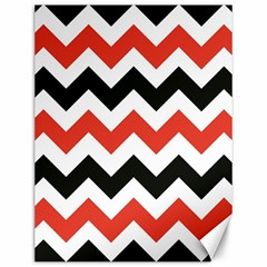 Colored Chevron Printable Canvas 12  X 16   by AnjaniArt