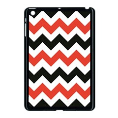 Colored Chevron Printable Apple Ipad Mini Case (black) by AnjaniArt