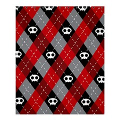 Cute Scull Shower Curtain 60  X 72  (medium)  by AnjaniArt