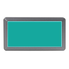 Green Blue Memory Card Reader (mini) by AnjaniArt
