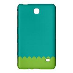 Green Blue Samsung Galaxy Tab 4 (7 ) Hardshell Case