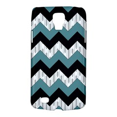 Green Black Pattern Chevron Galaxy S4 Active by AnjaniArt