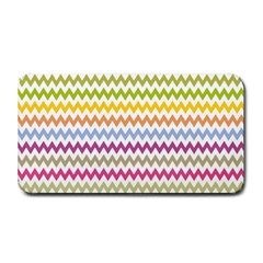 Color Full Chevron Medium Bar Mats by AnjaniArt
