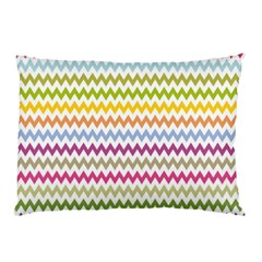 Color Full Chevron Pillow Case (two Sides) by AnjaniArt