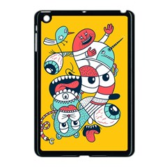 Monster Animals Apple Ipad Mini Case (black) by AnjaniArt