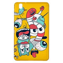 Monster Animals Samsung Galaxy Tab Pro 8 4 Hardshell Case by AnjaniArt