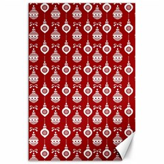 Light Red Lampion Canvas 20  X 30   by AnjaniArt
