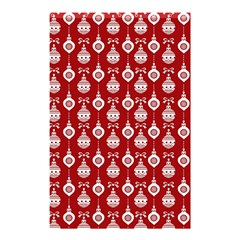 Light Red Lampion Shower Curtain 48  X 72  (small)  by AnjaniArt
