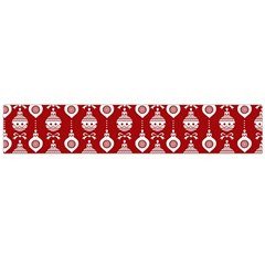 Light Red Lampion Flano Scarf (large) by AnjaniArt