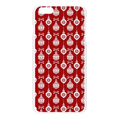 Light Red Lampion Apple Seamless iPhone 6 Plus/6S Plus Case (Transparent) by AnjaniArt
