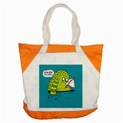 Monster Sea Too Big To Sail Accent Tote Bag