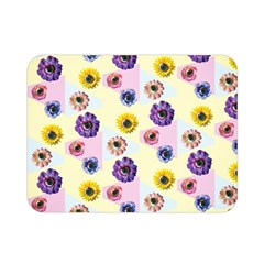 Monster Eye Flower Double Sided Flano Blanket (mini)  by AnjaniArt