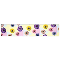 Monster Eye Flower Flano Scarf (small) by AnjaniArt