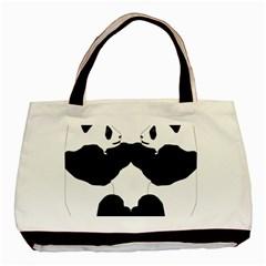 Panda Basic Tote Bag