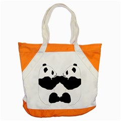 Panda Accent Tote Bag
