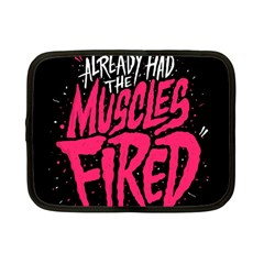 Muscles Fired Netbook Case (small)  by AnjaniArt