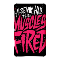 Muscles Fired Samsung Galaxy Tab S (8.4 ) Hardshell Case  by AnjaniArt
