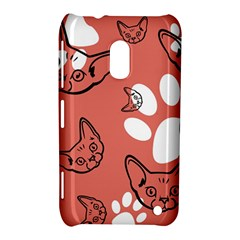 Face Cat Pink Cute Nokia Lumia 620 by AnjaniArt