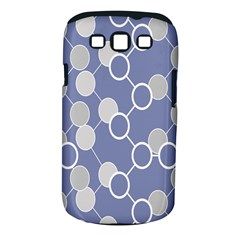 Round Blue Samsung Galaxy S Iii Classic Hardshell Case (pc+silicone) by AnjaniArt