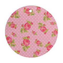 Rose Pink Ornament (round)  by AnjaniArt