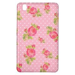 Rose Pink Samsung Galaxy Tab Pro 8 4 Hardshell Case by AnjaniArt