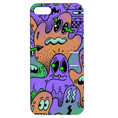 Monster Alien Ghost Apple Iphone 5 Hardshell Case With Stand by AnjaniArt