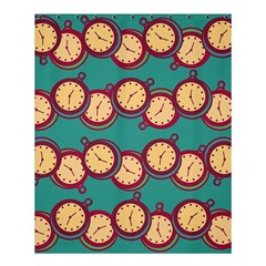 Timing Smart Time Shower Curtain 60  X 72  (medium)  by AnjaniArt