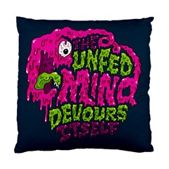 Unfedmind Standard Cushion Case (two Sides) by AnjaniArt