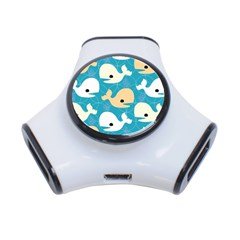 Whole Sea Animals 3 Port Usb Hub by AnjaniArt
