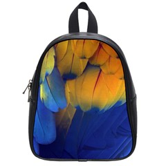 Parrots Feathers School Bags (small)  by AnjaniArt