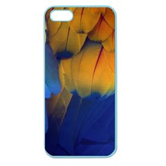 Parrots Feathers Apple Seamless Iphone 5 Case (color)