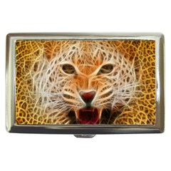 Electrified Fractal Jaguar Cigarette Money Case by TheWowFactor