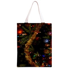 Night Xmas Decorations Lights  Classic Light Tote Bag by Zeze