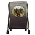 elephant_1 Pen Holder Desk Clock