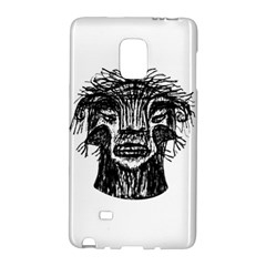 Fantasy Monster Head Drawing Galaxy Note Edge by dflcprints