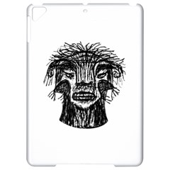 Fantasy Monster Head Drawing Apple iPad Pro 9.7   Hardshell Case by dflcprints