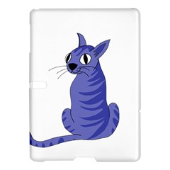 Blue Cat Samsung Galaxy Tab S (10 5 ) Hardshell Case  by Valentinaart