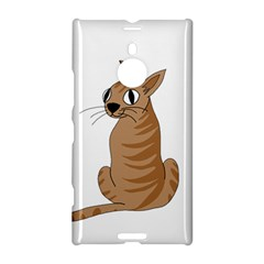 Brown Cat Nokia Lumia 1520 by Valentinaart